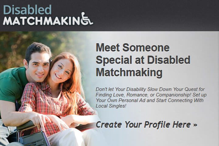 disabled matchmaking homepage