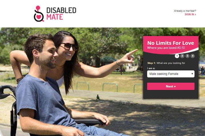 disabled mate homepage